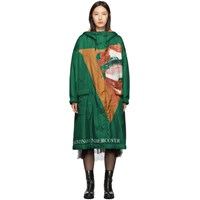 Undercover Green Edition Sherpa Hood Coat