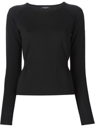 Roberto Collina Back Layer Sweater Black
