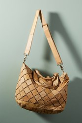 Monserat De Lucca Woven Raul Satchel Brown