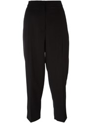 Sportmax Cropped Trousers Black