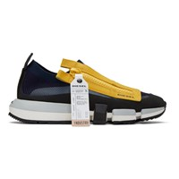 Diesel Navy And Yellow S Padola Sneakers