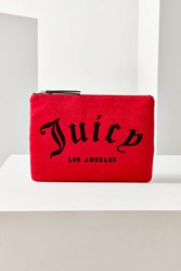 Juicy Couture For Uo Velvet Pouch Red