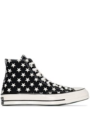 Converse Black And White Ct70 Archive Remix Flag Sneakers