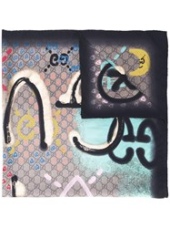 Gucci Multiple Prints Scarf