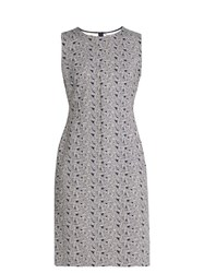 Diane Von Furstenberg Regenna Dress Navy White