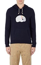 Band Of Outsiders Patchwork Brain Hoodie Multi Size 0 Xs