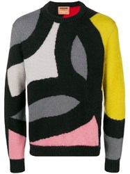 Missoni Colour Block Sweater Black