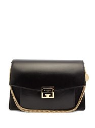 Givenchy Gv3 Medium Leather Shoulder Bag Black