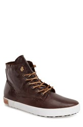 Men's Blackstone 'Im 10' Leather High Top Sneaker Mahogany Leather