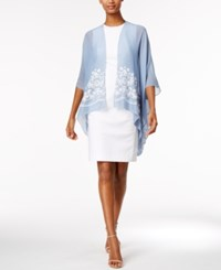 Inc International Concepts Embroidered Wrap Only At Macy's Chambray