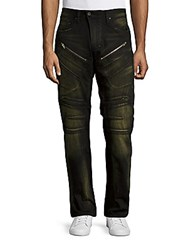 Prps Tactical Barracuda Straight Leg Jeans Green