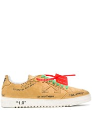 Off White Low Top Sneakers Neutrals