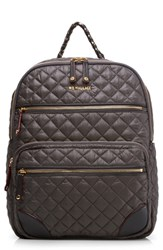 M Z Wallace Mz Crosby Backpack Grey Magnet