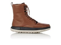 Uas Under Armour Sport Men's Fat Tire Leather And Neoprene Boots Brown