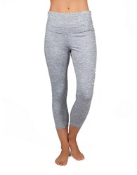 Jockey Heathered Capri Pants Pure White