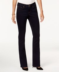 Style And Co Curvy Fit Bootcut Jeans Only At Macy's Rinse