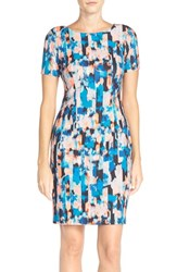 Women's Nydj 'Abby' Print Jersey Sheath Dress