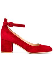 Gianvito Rossi Mary Jane Pumps Red