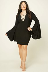 Forever 21 Plus Size Caged Mini Dress