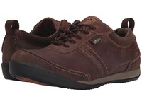 Simple Ascent Brown Leather Men's Shoes