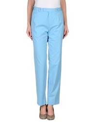 Carven Casual Pants Sky Blue