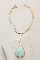 Anthropologie Sidra Necklace Mint