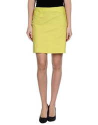 Versace Jeans Couture Mini Skirts Acid Green