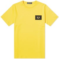 Fred Perry Acid Bright Tee Yellow