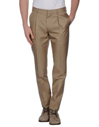 Valentino Trousers Casual Trousers Men Light Brown