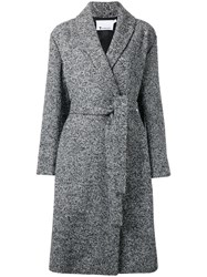 Alexander Wang Boucle Coat Black