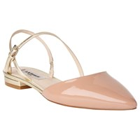 Lk Bennett L.K. Cari Pointed Toe Slingback Pumps Fawn Gold