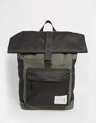 Religion Roll Top Backpack Black