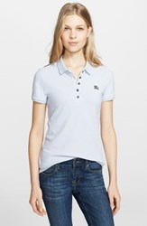 Women's Burberry Brit Cotton Pique Polo