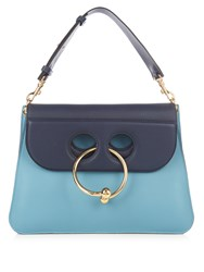 J.W.Anderson Pierce Medium Leather Cross Body Bag Blue Multi
