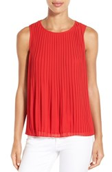 Women's Gibson Sleeveless Pleat Top