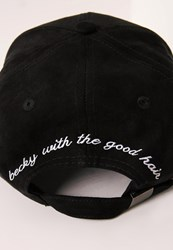 Missguided Becky With The Good Hair Suede Cap Black Black