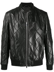 Desa 1972 Quilted Leather Bomber Jacket 60