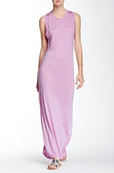 Riller And Fount Ivy Open Back Maxi Dress Pink