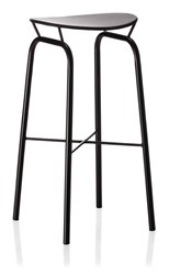 Gubi Nagasaki Stool Black