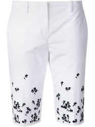 N 21 N.21 Embroidered Knee Length Shorts