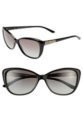 Versace Women's 'Rock Icons Greca' 57Mm Butterfly Sunglasses
