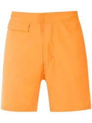 Amir Slama Swimming Shorts Orange