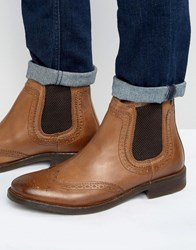 Base London Southwark Leather Chelsea Boot Tan