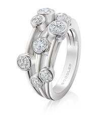 Boodles Classic Raindance Ring Silver