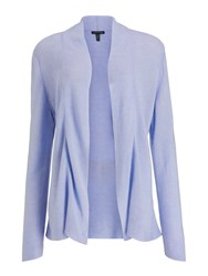 Eileen Fisher Tencel Silk Cardigan Wisteria