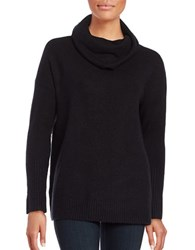 French Connection Flossy Cowlneck Sweater Black
