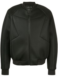 Ex Infinitas Zipped Bomber Jacket Black