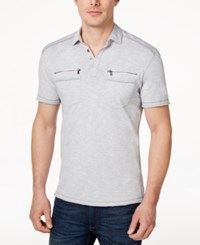 Inc International Concepts Men's Armory Polo Shirt Only At Macy's London Sky