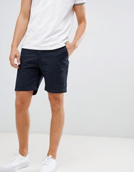 Pier One Chino Shorts In Navy