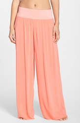 Hard Tail Wide Leg Pants Coral